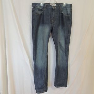 Paper denim & cloth mens relaxed straight leg jean